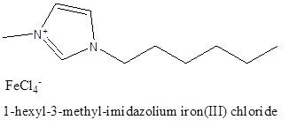 1-هگزیل-3-متیل ایمیدازولیوم تترا کلروفررات