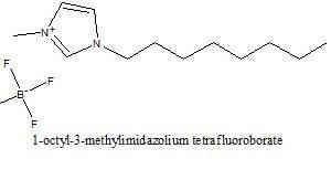 1-اکتیل-3-متیل ایمیدازولیوم تترافلوءورو بورات